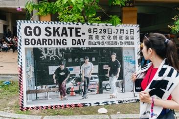 GO SKATE BOARDING DAY